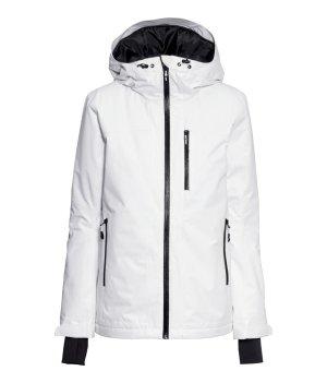 H&M Kurtka zimowa czarny-biały