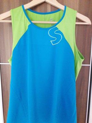 Camisa deportiva turquesa