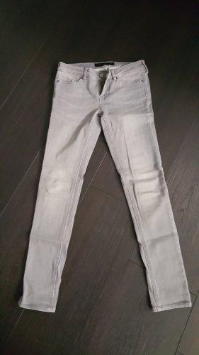Karl Lagerfeld Jeans skinny grigio chiaro-grigio