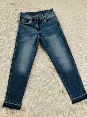 Skinny cropped Jeans / Gr. 34/36