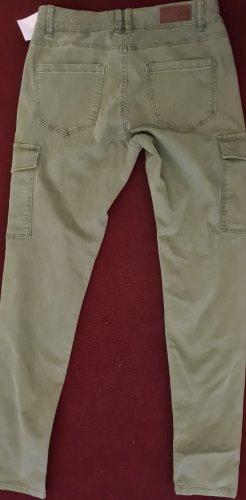 C&A Clockhouse Pantalón tipo suéter caqui