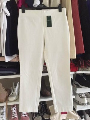 Lauren by Ralph Lauren Stretch Trousers white