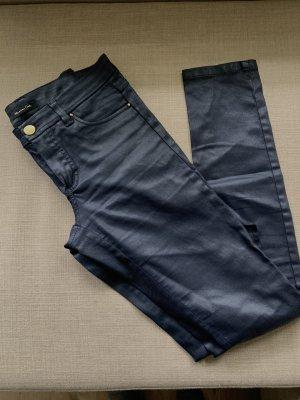 Massimo Dutti Pantalone cinque tasche blu scuro