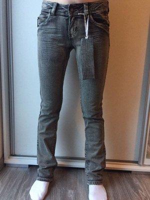 Skinny Fit Jeans mit tollen Gesässtaschen
