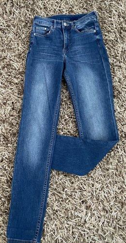 Skinny High Waist Denim Jeans