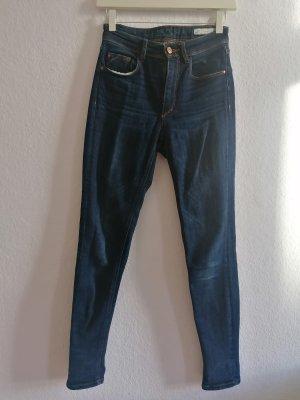 Skinny high waist denim Zara