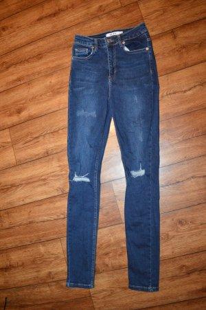 Nakd Jeans skinny blu scuro