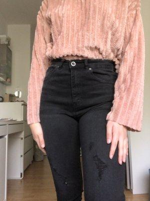 Pull & Bear Hoge taille jeans veelkleurig