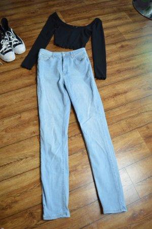 Skinny High Waist Jeans hellblau Nakd 38