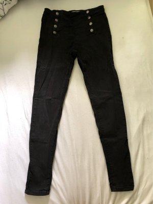 Tally Weijl Jeans a vita alta nero
