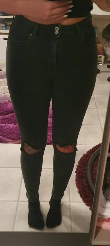 Skinny Highwaist Ripped Jeans