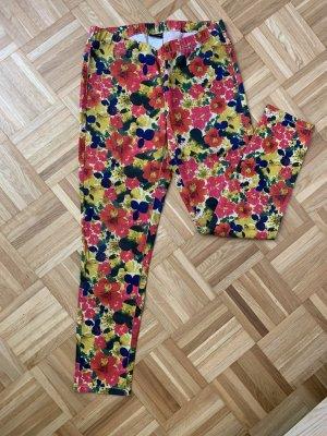 Skinny-Hose mit Blumenmuster