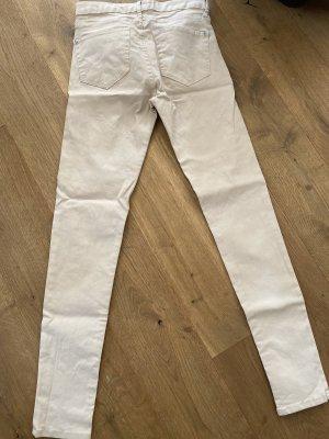 Skinny Hose von Mango in Gr.36, Beige