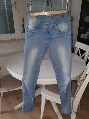 Jeans skinny azzurro