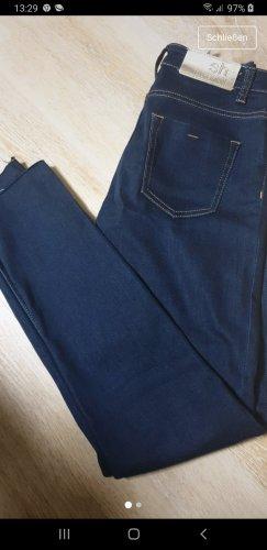 Denim Co. Low-Rise Trousers dark blue