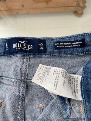 Hollister High Waist Jeans blue cotton