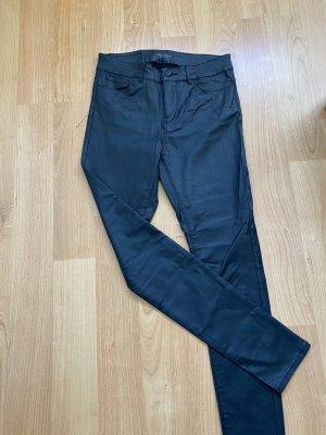 Skinny Jeans, beschichtet, M