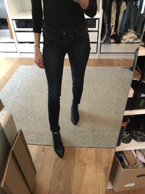 Skinny Jeans Black / Blue