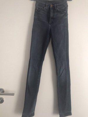 Skinny Jeans blau h&m Gr 24/30