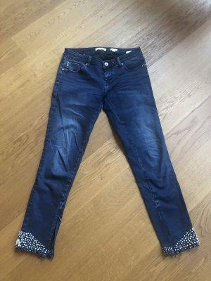 Skinny Jeans bling bling Größe S
