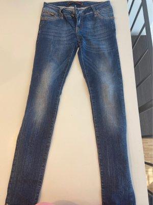 Cipo & Baxx Skinny Jeans blue