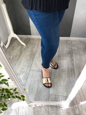 Skinny Jeans • cropped Gr. 50/52