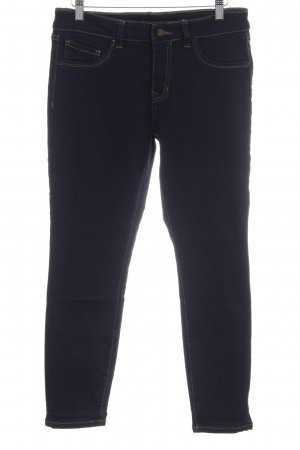 Skinny Jeans dunkelblau Casual-Look