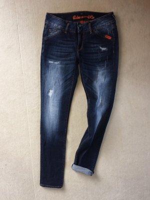 Adenauer & Co Jeans skinny bleu