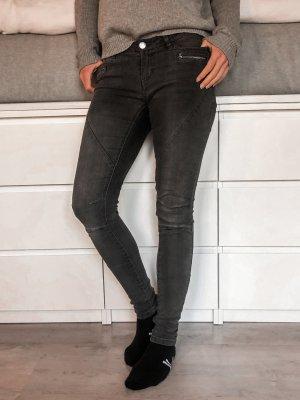 Skinny Jeans grau basic stretch Noisy may 27