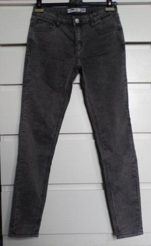Skinny Jeans grau Gr. 29
