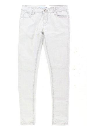 Skinny Jeans Größe 34 grau aus Baumwolle