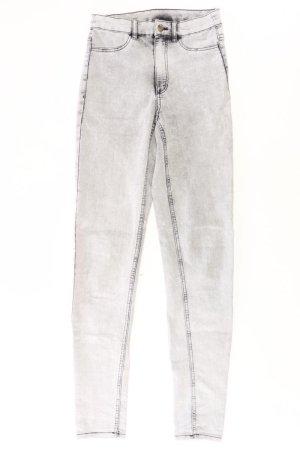 Skinny Jeans Größe 36 grau