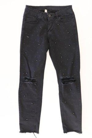 Skinny Jeans Größe S schwarz aus Baumwolle