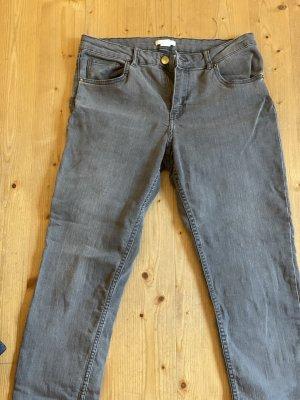 H&M Jeans skinny gris