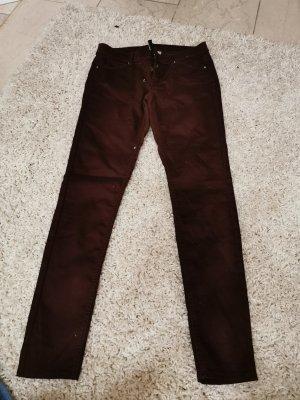 Skinny Jeans H&M bordeaux