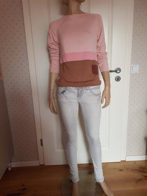Skinny Jeans hellgrau