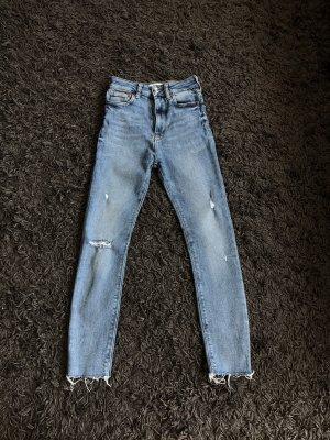 Skinny jeans high waisted Zara Neu XS