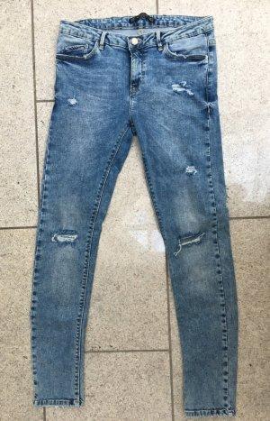 Skinny-Jeans im Destroyed-Look von Zara - NEU!