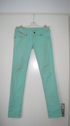 Skinny Jeans in Minz