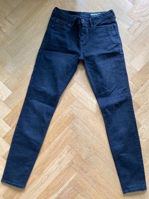 Skinny Jeans in schwarz