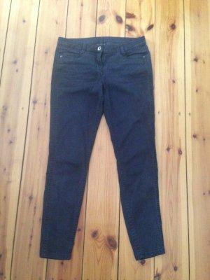 Skinny Jeans in verkürzter Länge