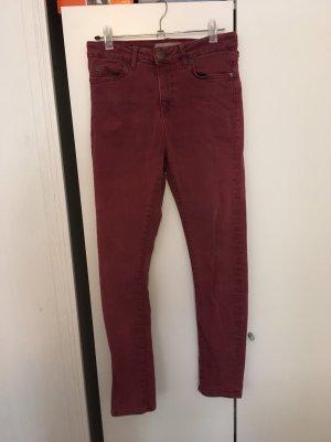 Topshop Skinny Jeans bordeaux