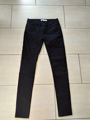 Skinny Jeans Jeanshose Schwarz Gr.36