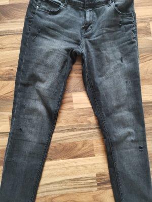 Skinny Jeans (Jeggings) in schwarz, Gr. 32/32