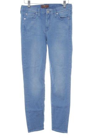 Skinny Jeans kornblumenblau-himmelblau Casual-Look