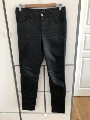 Skinny Jeans Lederlook
