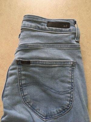 Skinny Jeans Lee hellblau