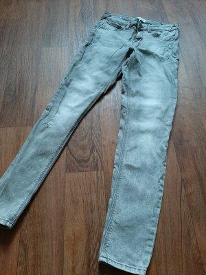 Skinny Jeans Mango used Look verwaschen