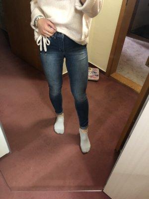 Skinny Jeans Mid Waist 26-27 XS