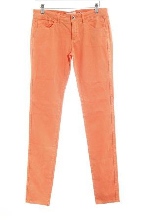 Skinny Jeans neonorange Casual-Look